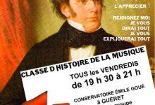 Classe d'Histoire de la Musique