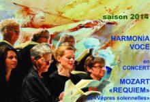 Requiem de Mozart avec Harmonia Voce