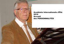 Académie Internationale d'Été 2016 : Accueil des personnalités.
