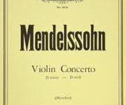 MENDELSSOHN… Chef-d'œuvre ! Le concerto en mi mineur, opus. 64 ! Une belle soirée musicale
