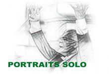 Mes portraits solo